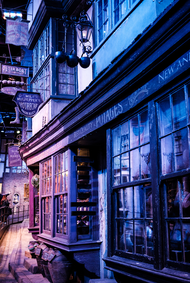 Diagon Alley, of course