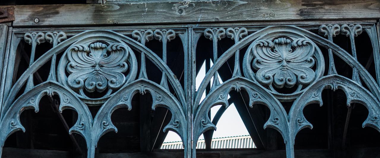Detail on the Hogwart's bridge