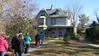 Approaching the Harriet Beecher Stowe House, Hartford CT