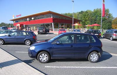 Europcar Polo totaal 1362 km