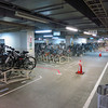 At the nearby mall...I wandered into the bike parking...wow.  Complete with parking monitor.
