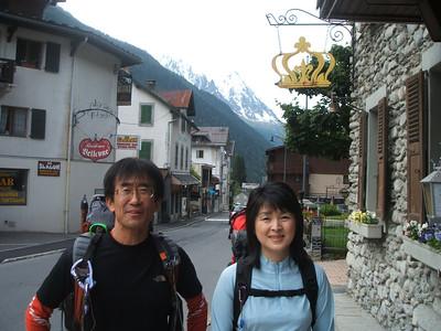 Haute Route Trekking, vom Mont Blanc zum Matterhorn 2007