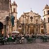 Plaza de la Catedral in Habana Vieja.