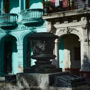 2015 ___Early Afternoon Sun on the Plaza de Armas Havana