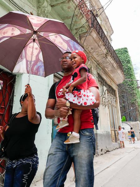 Family, Old Havana, Cuba, June 11, 2016.