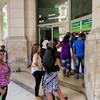 Cuba is a country of lines, ATM,  Havana, Cuba, June 11, 2016.