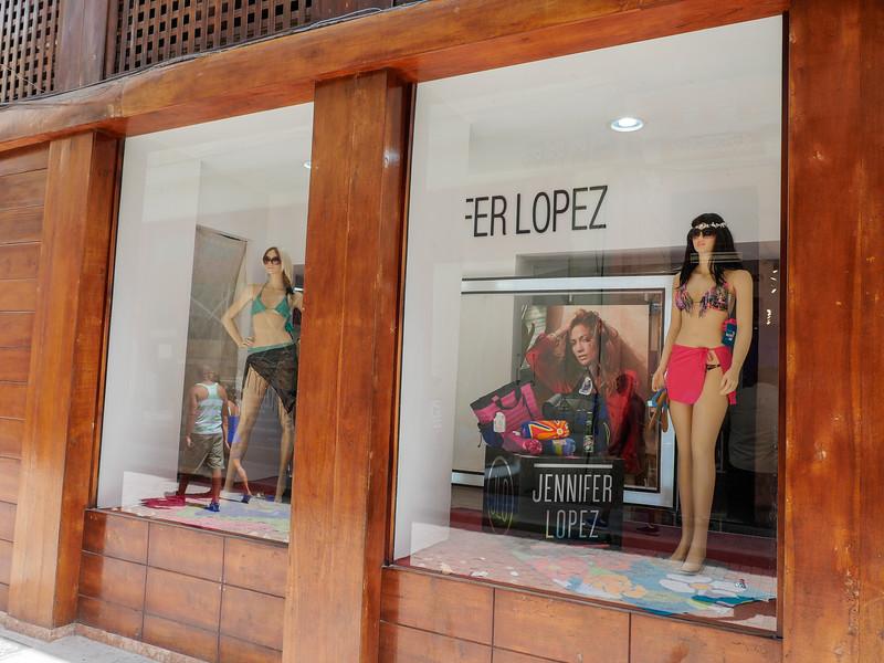Jennifer Lopez, Street Scene, Old Havana, Cuba, June 11, 2016.