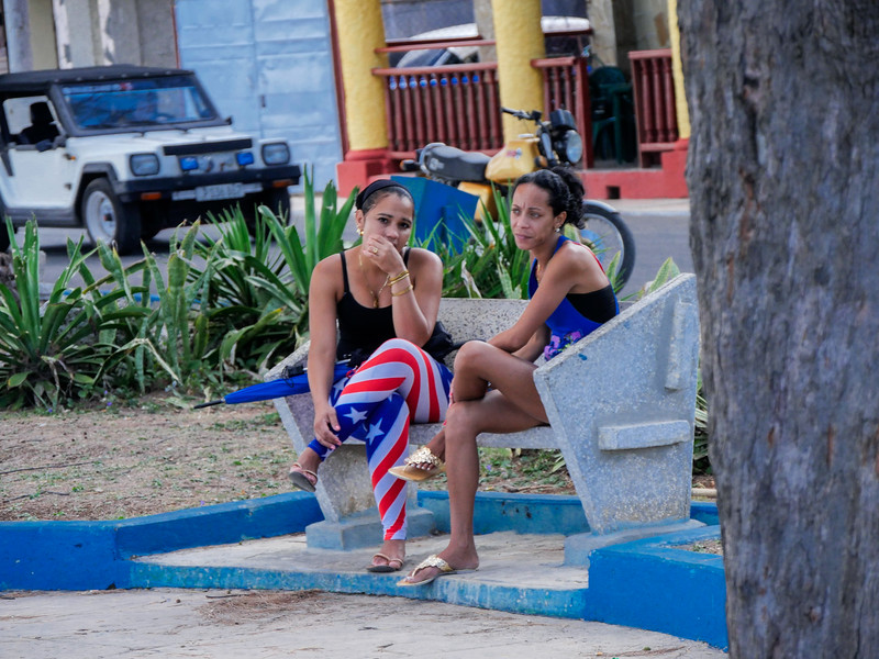 Friends, Cojimar, Cuba, June 3, 2016.