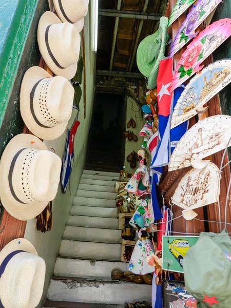 Hats, Old Havana, Cuba, June 11, 2016.
