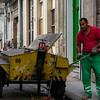 Man at work, Old Havana, Cuba, June 11, 2016.