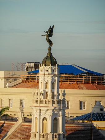Veiws from the Iberostar Parque Central Hotel, Havana, Cuba, June 11, 2016.