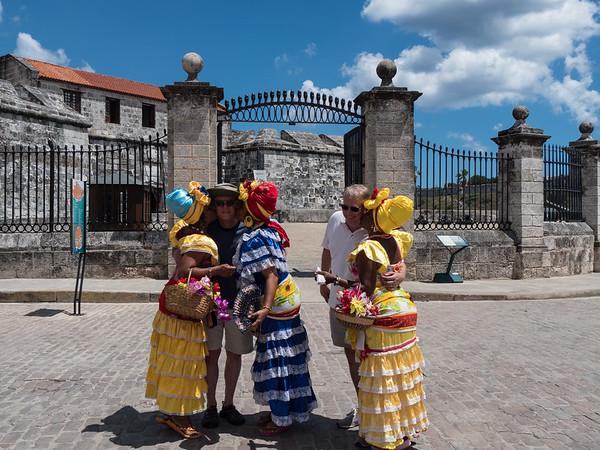 The Kiss, Castillo de la Real Fuerza (the Castle of the Royal Force), Havana, Cuba, June 2, 2016.