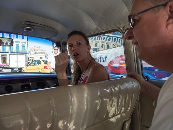 Our Havana Day Tour guide Katia Manso, Havana, Cuba, June 2, 2016.