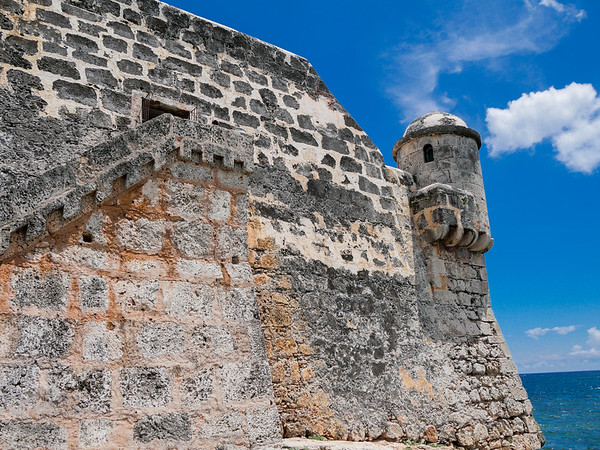 The  Cojimar Fortress, Cojimar, Cuba, June 11, 2016.