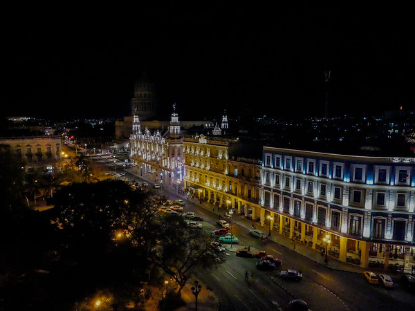Veiws from the Iberostar Parque Central Hotel, Havana, Cuba, June 2, 2016.
