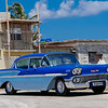 Bel Air parked in Cojimar, Cuba, June 11, 2016.