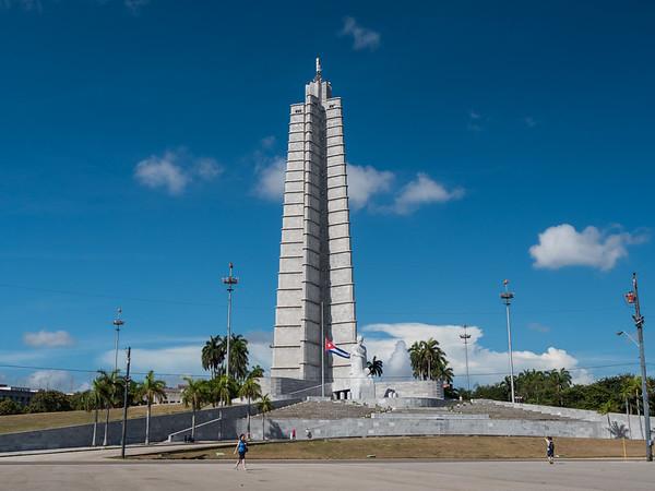 Revolution Plaza (Plaza De La Revolucion), Havana, Cuba, June 2, 2016.