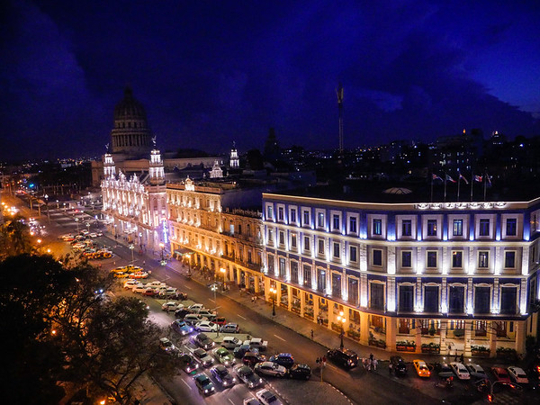 Veiws from the Iberostar Parque Central Hotel, Havana, Cuba, June 3, 2016.