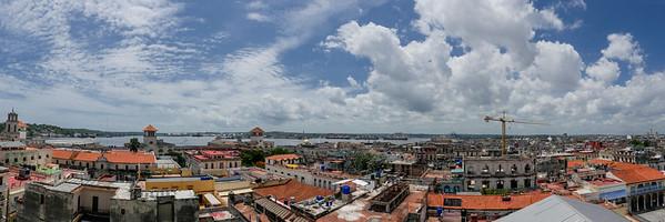 Havana city view from the Camera Obscrura rooftop, Havana, Cuba, June 11, 2016.