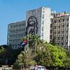 Image of  Che Guevara, Revolution Plaza (Plaza De La Revolucion), Havana, Cuba, June 2, 2016.