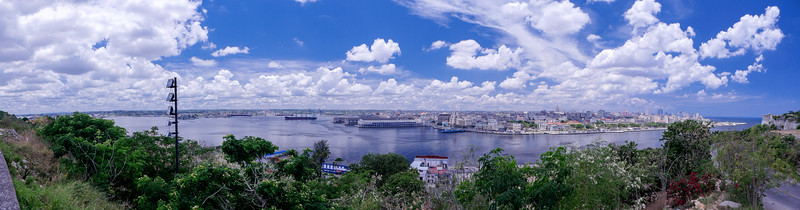View of Port Havana from Cristo de la Habana, Havana, Cuba, June 11, 2016.