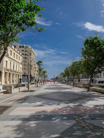 Views along Paseo de Martí (Prado),  Havana, Cuba, June 11, 2016.