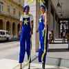 Stilt walkers,  Havana, Cuba