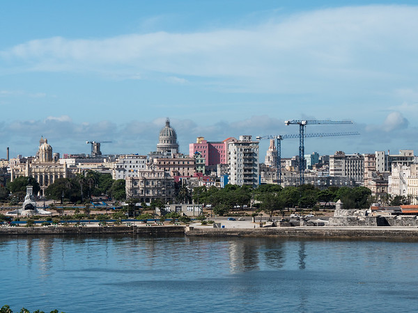 Havana viewed from El Morro, Havana, Cuba, June 2, 2016.
