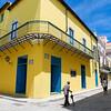 Yellow Building, Havana, Cuba