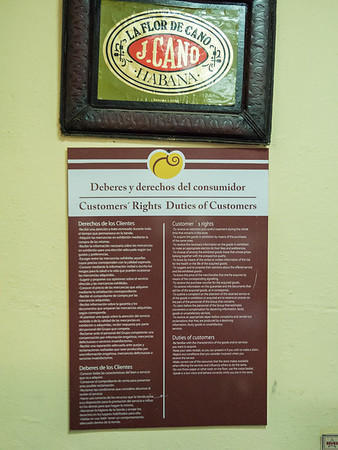 La Corona Cigar Factory tour, Havana, Cuba, June 2, 2016.
