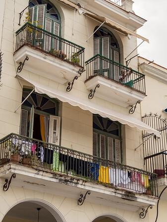 Old Square (Plaza Vieja), Havana, Cuba, June 2, 2016.