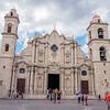 Cathedral of Havana San Cristobal, (Catedral de San Cristóbal de la Habana),  Havana, Cuba, June 11, 2016.