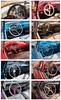 """Car steering wheel 23x38"""""""