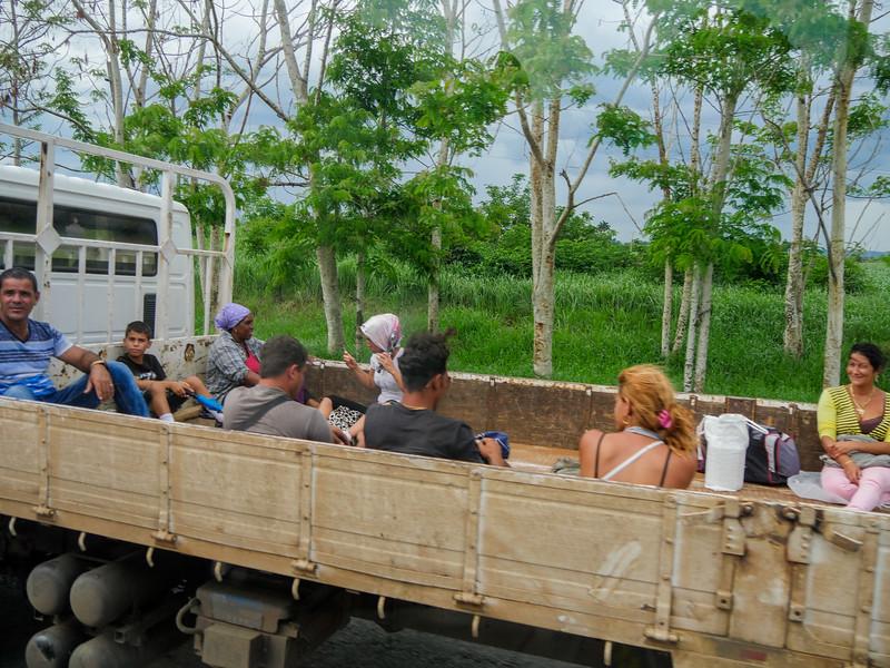 Near Las Damas, Road trip from Havana to Jucara, Cuba, June 4, 2016