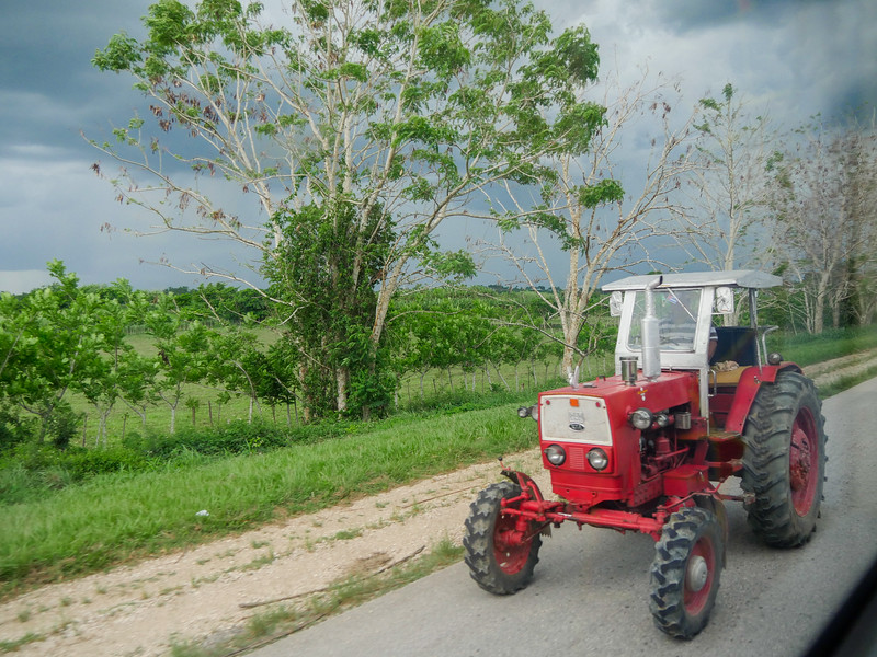 Near El Plantel, Road trip from Jucara to Havana, Cuba, June 10, 2016