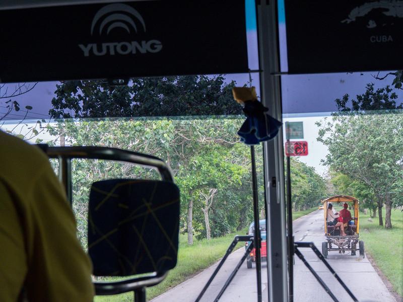 Near Saragoza, Road trip from Jucara to Havana, Cuba, June 10, 2016