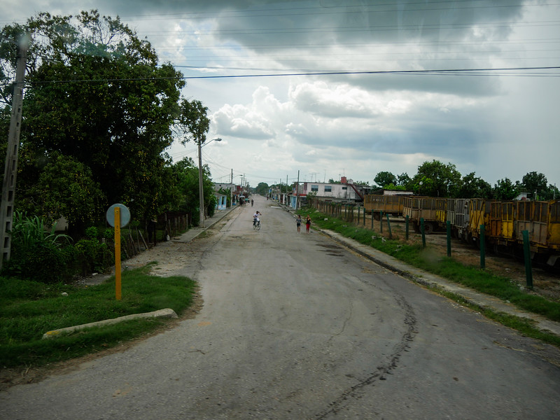 Jatibonico, Road trip from Havana to Jucara, Cuba, June 4, 2016