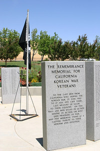 The front entrance to the memorial.