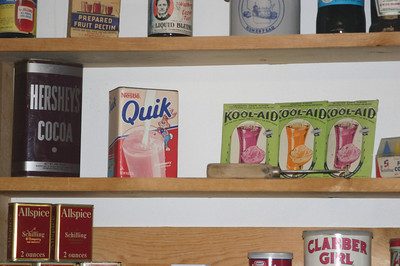 More old favorites--strawberry Quik and Koolade and other healthy additives.