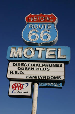 Day 2B Kingman, Seligman, I-40, and Route 66
