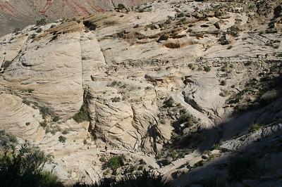 More trail switchbacks.