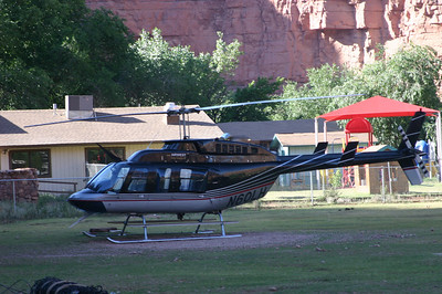 The helicopter.