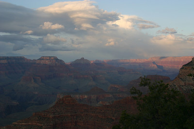 As the last light left the canyon, the whole feeling changed.