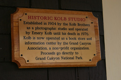 Note about the Kolb Studio.