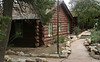 Bright Angel Lodge is surrounded by quaint and colorful cabins that look like they'd be a blast to spend a weekend in.