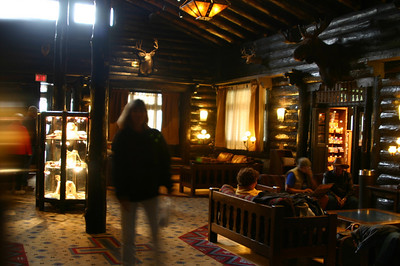 All lodges need a big central lounge area, and El Tovar is no exception.