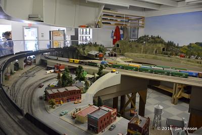 Havre, MT train museum - models - 8-12-16