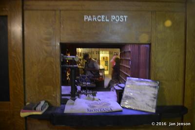 Portable (tin) Post Office in Havre Underground Tour - Havre, MT -  8-12-16