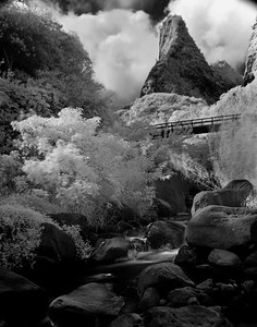 Io Valley Infrared Maui, Hawaii