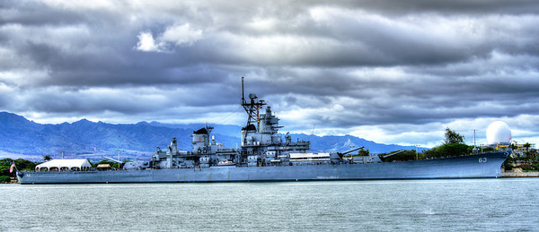Mighty Mo, the USS Missori, the battleship on which WWII in the Pacific was ended.